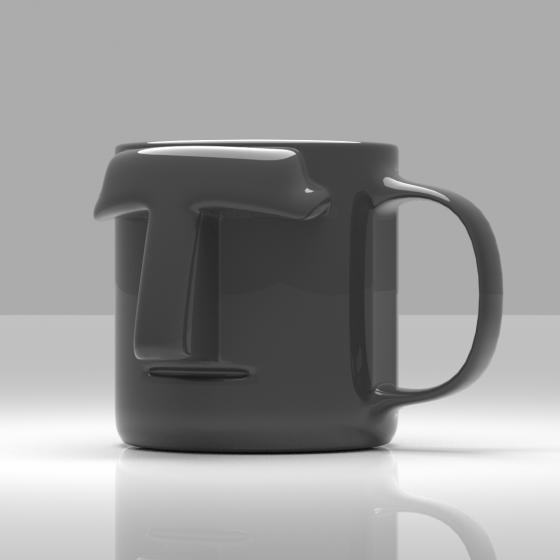 Moai Head Mug