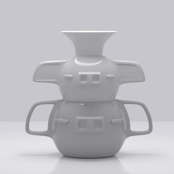 ElephantPig Flower Vase
